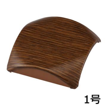 プロテクター用分岐ジョイント 1号 木目チーク [品番]09-2040