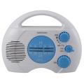 AudioComm AM/FM シャワーラジオ [品番]07-7768