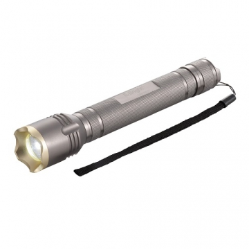 点滅・ズーム機能付き LEDアルミライト 3W [品番]07-8569