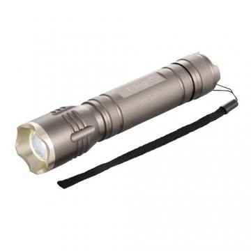 点滅・ズーム機能付き LEDアルミライト 3W [品番]07-8570