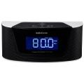 AudioComm Bluetooth クロック スピーカー ラジオ付き [品番]03-2036