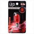 LEDナツメ球 常夜灯 E12 レッド [品番]06-3201
