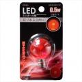 LED電球 装飾用 ミニボール E12 レッド [品番]06-3221