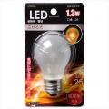 LED電球装飾用/PS/E26/1.3W/15lm/フロスト電球色 [品番]06-3232