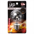 LED電球 装飾用 E26 クリア 電球色 [品番]06-3234