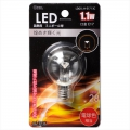 LED電球 装飾用 ミニボール E17 クリア 電球色 [品番]06-3236