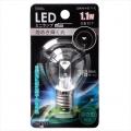 LED電球 装飾用 ミニランプ E17 クリア 昼白色 [品番]06-3251