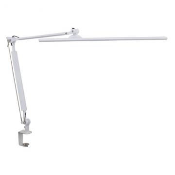 LEDタッチ式調光アームライト ホワイト [品番]07-8116