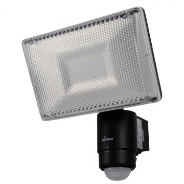 LEDセンサーライト 1200ルーメン 黒 [品番]07-8205