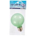 バルーンカラー球 G70 E26/40W グリーン [品番]07-9632
