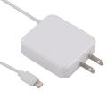 AudioComm ライトニングケーブル一体型 AC充電器 ホワイト [品番]01-7028