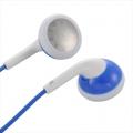 AudioComm ステレオイヤホン ブルー [品番]03-1609