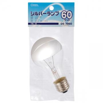 シルバーランプ E26 60W [品番]04-7960