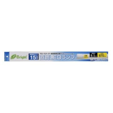 直管LEDランプ 15形相当 G13 昼光色 [品番]06-2978