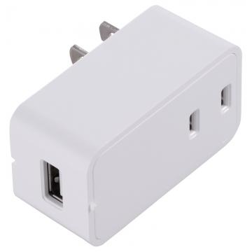 増設できる USBチャージャー ホワイト [品番]00-1448