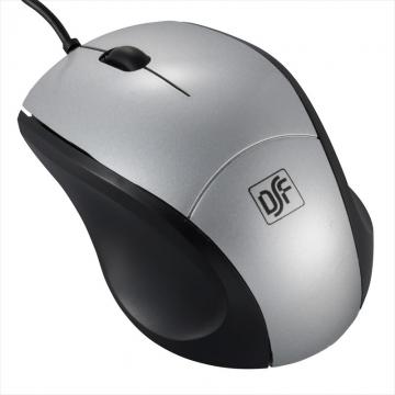 ブルーLEDマウス Sサイズ シルバー [品番]01-3559