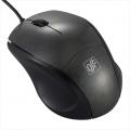 ブルーLEDマウス Sサイズ ブラック [品番]01-3560