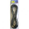 ビニール平行線 VFF 1.25mm2 2m 黒 [品番]04-7336