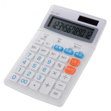 税率切り替え 中型電卓 [品番]07-9907
