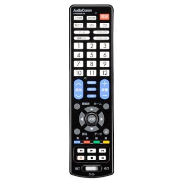 AudioComm LEDライト付き 簡単TVリモコン シャープ専用 [品番]07-8531