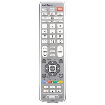 AudioComm LEDライト付き 簡単TVリモコン 東芝専用 [品番]07-8532