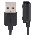 Xperia専用 USB-マグネットコネクター ストレートケーブル 充電専用 [品番]01-0650