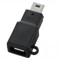 変換コネクター MicroUSB‐USBミニB [品番]01-3395