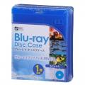 ブルーレイ ディスクケース 1枚用 5個パック [品番]01-3602