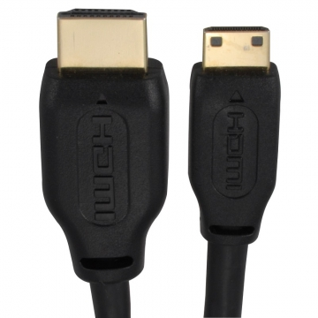 HDMI-mini HDMI ケーブル 1.5m [品番]05-0286