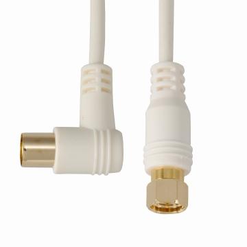 デジタルTVケーブル S2.5C-FBL F型接栓‐Lプラグ 3m [品番]06-0019