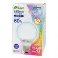 LED電球 ボール形 60形相当 E26 昼白色 [品番]06-2992