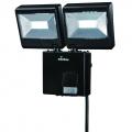 LED センサーライト2灯 コンセントタイプ [品番]07-8284