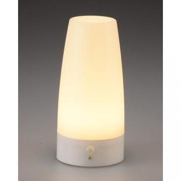LEDムードライト 人感・明暗センサー 電球色LED [品番]07-9833