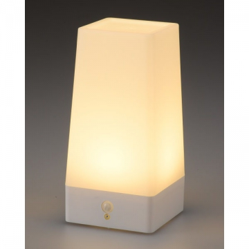 LEDムードライト 人感・明暗センサー 電球色LED [品番]07-9835