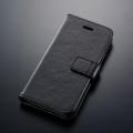 iPhone6専用 ブックタイプケース ブラック [品番]01-2352