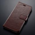 iPhone6プラス専用 ブックタイプケース ブラウン [品番]01-2355