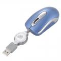 コードリールマウス Sサイズブルー [品番]01-3219