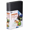 DVD&CDケース スリムタイプ 1枚収納×5個パック [品番]01-3284