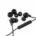 AudioComm ステレオイヤホン iPhone用 カナルタイプ ブラック [品番]03-2708