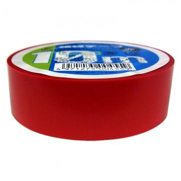 絶縁テープ 10m 赤 [品番]00-0455