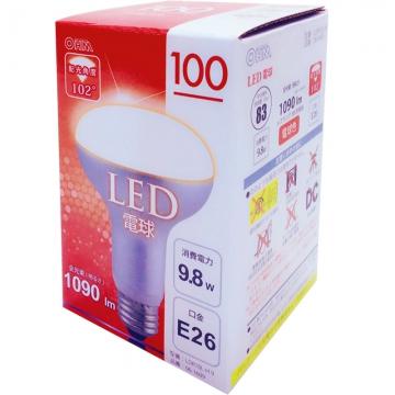 LED電球 レフランプ形 100W形相当 E26 電球色 [品番]06-1609