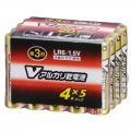 Vアルカリ乾電池 単3形 20本パック [品番]07-9946