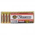 Vアルカリ乾電池 単4形 12本パック [品番]07-9949