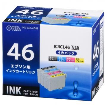 エプソン互換 IC4CL46 顔料4色 [品番]01-2969
