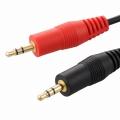 抵抗入 オーディオ接続コード ステレオミニプラグ-ステレオミニプラグ 1.5m [品番]01-5102