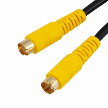 S端子 ビデオ接続コード 2m [品番]01-5132