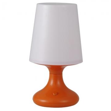 LEDナイトスタンド 乾電池式 オレンジ 電球色LED [品番]06-0447