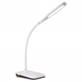 LED調光デスクライト USBポート付 ホワイト [品番]07-8499