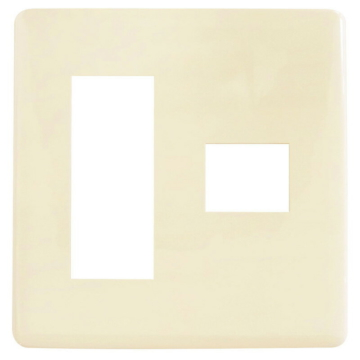 埋込プレート 3+1口用 [品番]00-8043