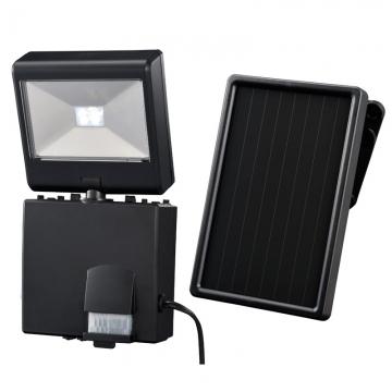 ソーラー式 LEDセンサーライト 1灯2W [品番]07-8286